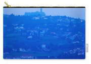 Town With Chateau De Polignac Carry-all Pouch