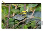 Townsends Warbler In Tree Carry-all Pouch