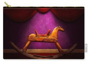 Toy - Hobby Horse Carry-all Pouch by Mike Savad
