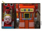 Toy Robot And Train Carry-all Pouch