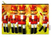 Toy Soldiers Nutcracker Carry-all Pouch by Bob Orsillo