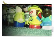 Toys In A Row Carry-all Pouch