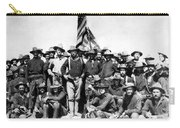Tr And The Rough Riders Carry-all Pouch by War Is Hell Store