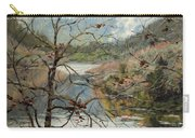 Traces Of Autumn Carry-all Pouch