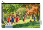 Track Team Carry-all Pouch by Susan Savad