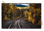 Tracks Through The Mountains  Carry-all Pouch by Bob Orsillo