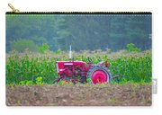 Tractor In A Corn Field Carry-all Pouch