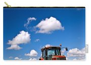 Tractor In Plowed Field Carry-all Pouch by Elena Elisseeva