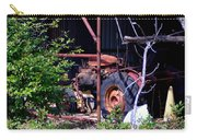 Tractor In Shed Carry-all Pouch