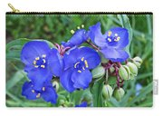 Tradescantia Blooming Carry-all Pouch
