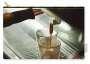 Traditional Espresso Coffee And Machine  Carry-all Pouch