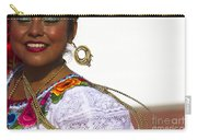 Traditional Ethnic Dancers In Chiapas Mexico Carry-all Pouch