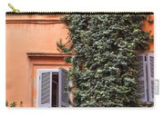 Traditional House Rome Italy Carry-all Pouch