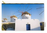 Traditional Windmill In A Village Carry-all Pouch