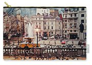 Trafalgar Square London Carry-all Pouch by Diana Angstadt