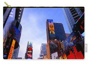 Traffic Cop In Times Square New York City Carry-all Pouch