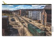 Traffic On Lincoln Street Carry-all Pouch