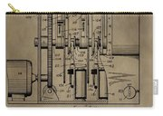 Traffic Signal Patent Carry-all Pouch