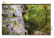 Trail Beside The Cliff Wildcat Den State Park Carry-all Pouch