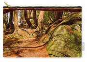 Trail In A Forest, Muskoka, Ontario Carry-all Pouch