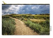 Trail In Badlands In Alberta Canada Carry-all Pouch