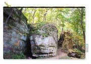 Trail Through The Rocks Wildcat Den State Park Carry-all Pouch