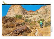 Trail Up To The Tanks From Capitol Gorge Pioneer Trail In Capitol Reef National Park-utah Carry-all Pouch