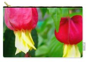 Trailing Abutilon Or Lantern  Flower Carry-all Pouch