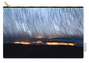 Trails Of Stars Over Big Island Carry-all Pouch