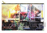 Train Abstract Blend 1 Carry-all Pouch