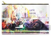 Train Abstract Blend 6 Carry-all Pouch
