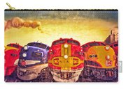 Train Art At Union Station Carry-all Pouch