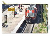 Train At Delhi Station Carry-all Pouch