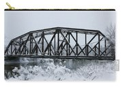 Train Bridge Over The Genesee River Carry-all Pouch