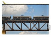 Train Cars On The Bridge Carry-all Pouch