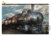 Train - Engine - 6 Nw Class G Steam Locomotive 4-6-0  Carry-all Pouch by Mike Savad