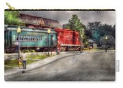 Train - Engine - Black River Western Carry-all Pouch by Mike Savad