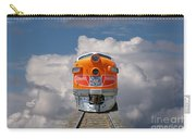 Train In Clouds Carry-all Pouch