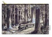 Train In The Redwoods Carry-all Pouch