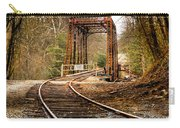 Train Memories Carry-all Pouch by Debra and Dave Vanderlaan