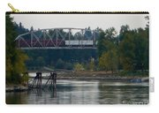 Train On Trestle Oregon Carry-all Pouch