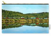 Train Reflecting Carry-all Pouch