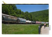 Train Watching At The Horseshoe Curve Altoona Pennsylvania Carry-all Pouch