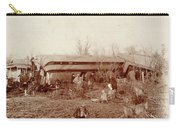Train Wreck, 1890s Carry-all Pouch