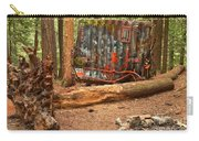 Train Wreck Along The Cheakamus River Carry-all Pouch