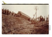 Train Wreck, C1900 Carry-all Pouch