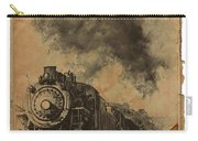 Trains Of The Old West Carry-all Pouch