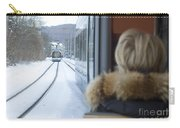 Tram In Winter Carry-all Pouch