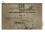Tramway Fender Patent Carry-all Pouch