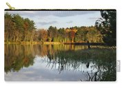 Tranquil Autumn Landscape Carry-all Pouch